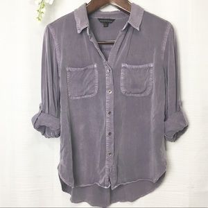 Rock & Republic• purple button down